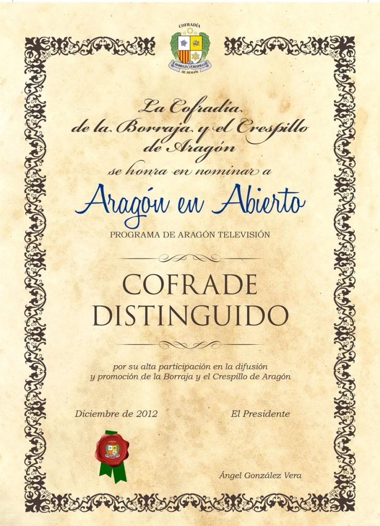 Dintinguido AragónTv