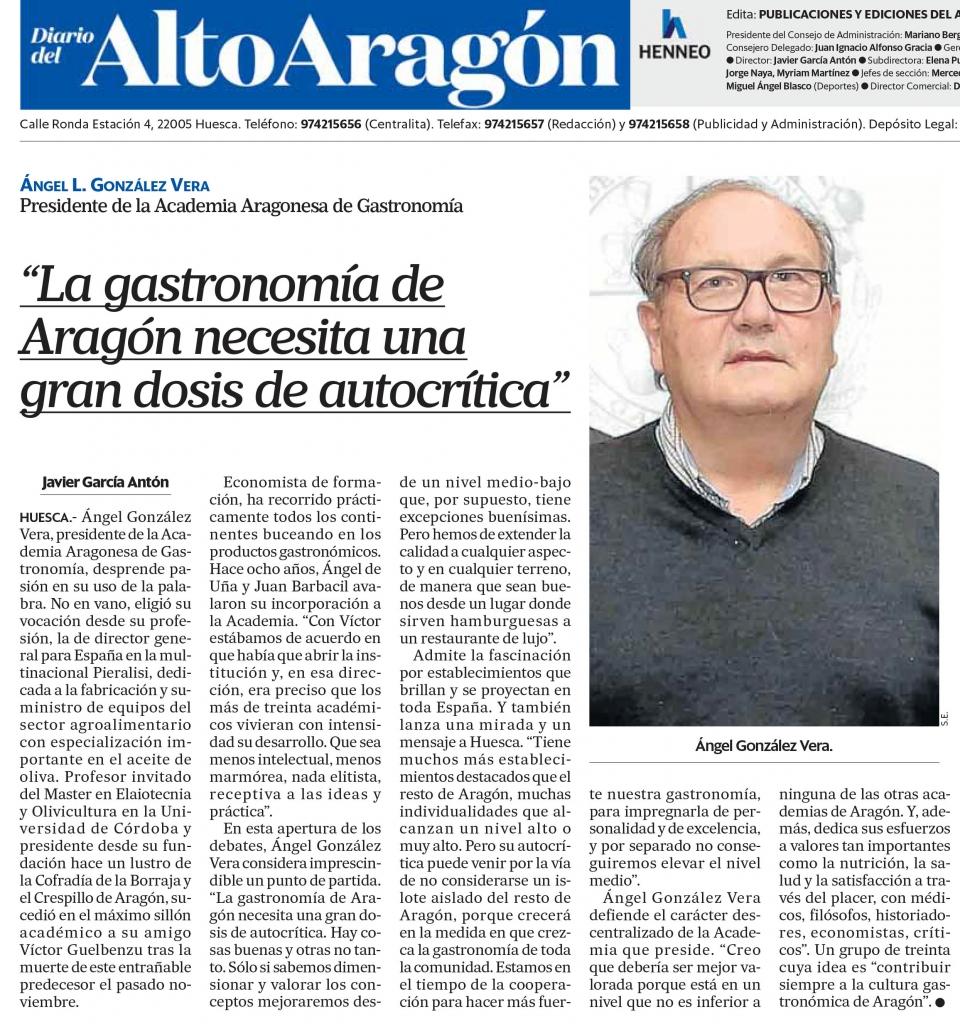 Entrevista a Angel Gonzalez
