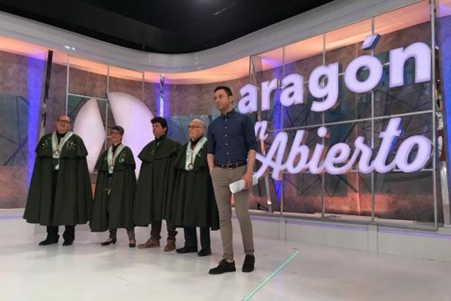 Aragón Televisión. Programa en Abierto. La Cofradia