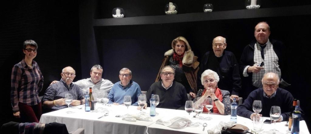 Comida de Cofrades en el Restaurante Colette (Zaragoza)