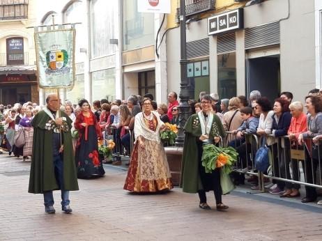 Ofrenda de Frutos a Nuestra Señora la Virgen del Pilar 2018-2