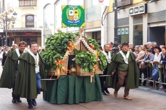 Ofrenda de Frutos a Nuestra Señora la Virgen del Pilar 2018-Portada