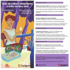 """XIII Edición del Aula de cultura alimentaria """"A orillas del Ebro""""-4"""