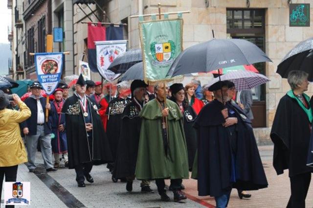 XXIX Capítulo de la Cofradía del Queso Idiazabal de Ordizia-Portada