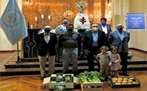 Ofrenda de frutos 2020 Cofradia de la Borraja